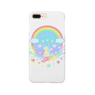 虹の中のペガサス Smartphone cases