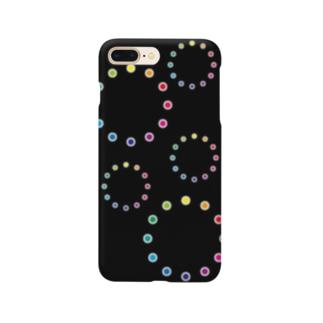 色相環の花火 Smartphone cases