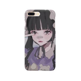夢なぐりちゃん Smartphone cases