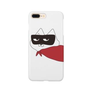 マスク・ド・ニャンコ Smartphone cases