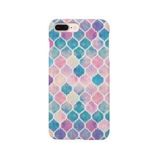 幾何学模様1 Smartphone cases