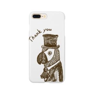 ヨウム男爵 Smartphone cases