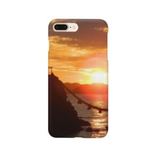 二見浦の日の出 Smartphone cases