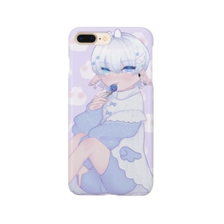 宇宙人くん Smartphone cases