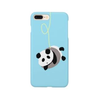 yukimalのハマったパンダ Smartphone cases