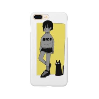 Kefuのgirl Smartphone cases