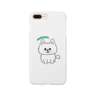LSHALDANの癒しのポメチワ Smartphone cases