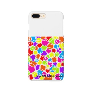 in a COLORFUL world... Smartphone cases