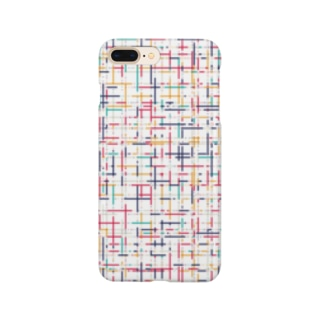 幾何学模様2 Smartphone cases