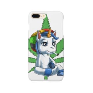 AKAGANEのユニコ君のリラックス Smartphone cases