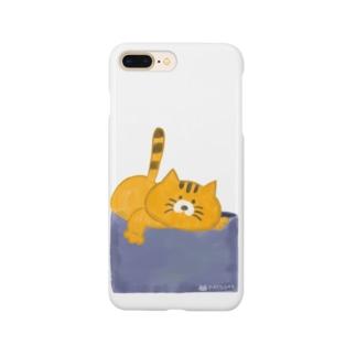 おこらないネコ はなたん Smartphone cases