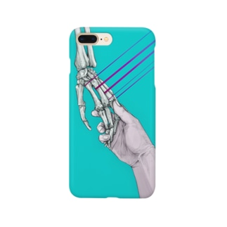 「hold hands」 Smartphone cases