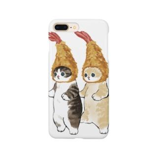 ダブルえび天にゃん Smartphone cases