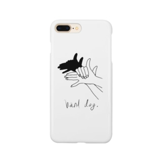 Hand Dog(ロゴ入り)  Smartphone cases