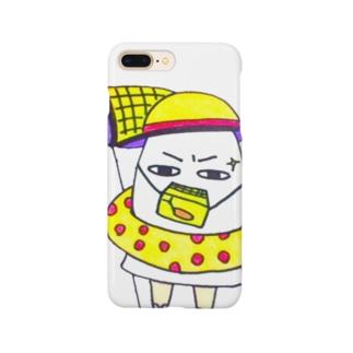 サマーなメジェド様 Smartphone cases