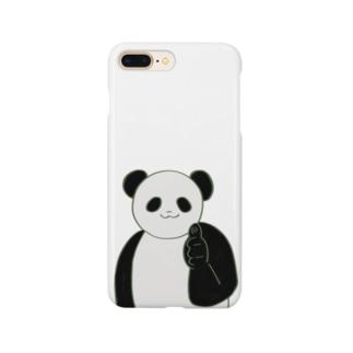 元気なパンダ Smartphone cases
