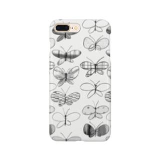 KAERUCAFE SHOPの蝶 Smartphone cases