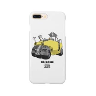 タイヤローラー Smartphone cases