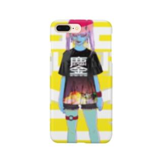 みなごろしちゃん_001 Smartphone cases