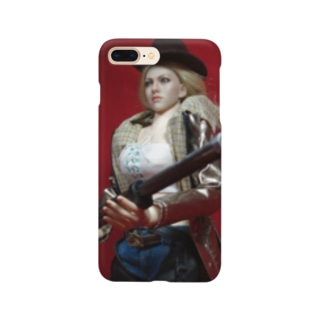 ドール写真:ブロンド美女のスナイパー Doll picture: Blonde sniper Smartphone cases