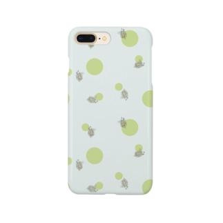 微生物・ミジンコ Smartphone cases