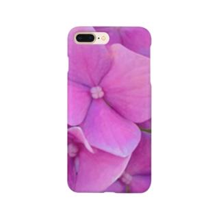 紫陽花。 Smartphone cases
