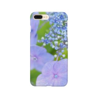 紫陽花 Smartphone cases