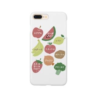 @miの声に出して読んでみたい英語(野菜と果物) Smartphone cases