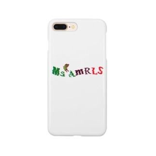 Ms Amaryllis のMs Amaryllis butterfly logo Smartphone cases