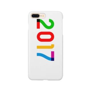 marikiroの2017_西暦 Smartphone cases