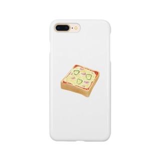 ピザトーストくん Smartphone cases