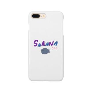 SAKANAちゃん Smartphone cases