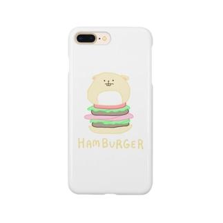 magurotatakingのハムバーガー Smartphone cases