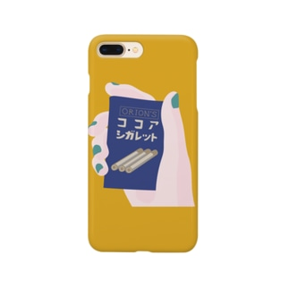 ココアシガレットのスマホケース Smartphone cases