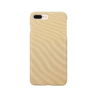 鳥取砂丘の砂紋 Smartphone cases