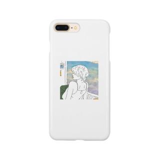 夕焼けガール Smartphone cases