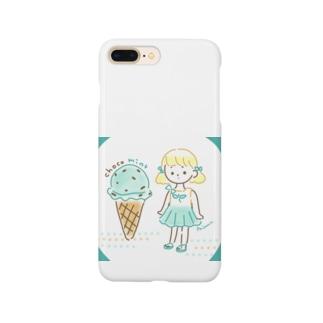 チョコミント Smartphone cases
