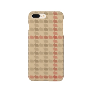 Usagi Kawaiiのラビットチェック Smartphone cases