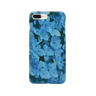 紫陽花 B Smartphone cases