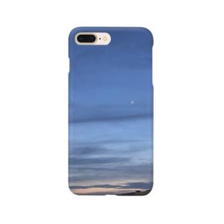 初夏の三日月 Smartphone cases