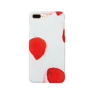 苺推しフルーツ Smartphone cases