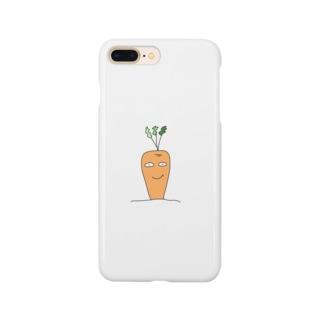 にんにんじん Smartphone cases