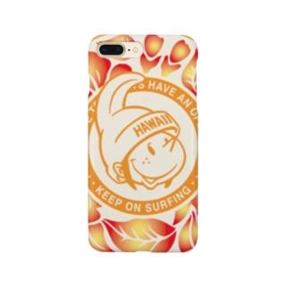 Surfing Boy ShopのKeep on Surfing スマホケース Smartphone cases