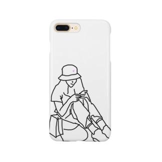 モデル気取り Smartphone cases