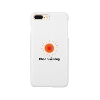 おはよう Smartphone cases