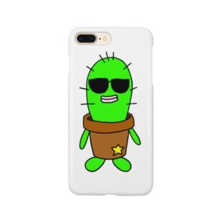 サボテンのフランクリン Smartphone cases