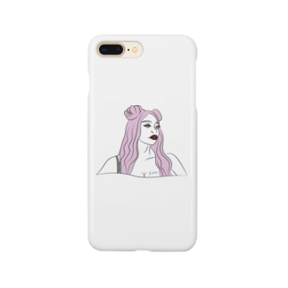 Luster Sunの pinky cute ♡(限定) Smartphone cases