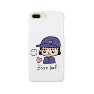 野球マネ Smartphone cases