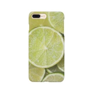 ライム-Lime Smartphone cases