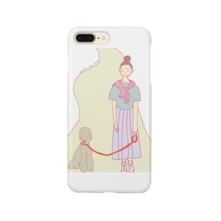 ウォークザドックちゃん Smartphone cases